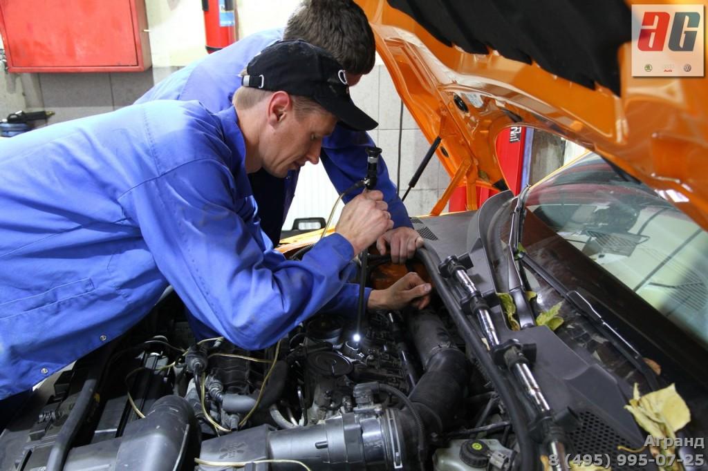 Ауди ТТ стук в двигателе